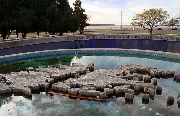 Monumento a los caídos en Malvinas