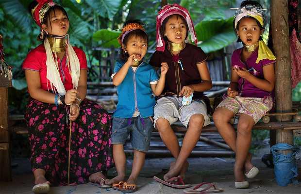 Tribo Karen em Chiang Mai