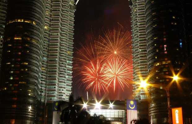 Nochevieja en Kuala Lumpur