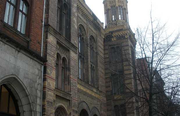 Nova Sinagoga Berlim - Centro Judaico