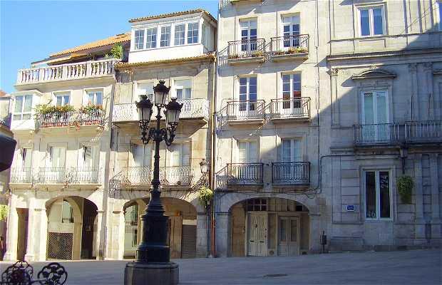 Piazza della Costituzione a Vigo
