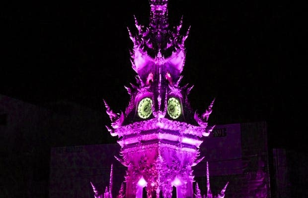 """Clock Tower"" o ""Torre del Reloj"" de Chiang Rai"