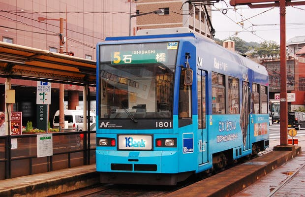 Trams in Nagasaki