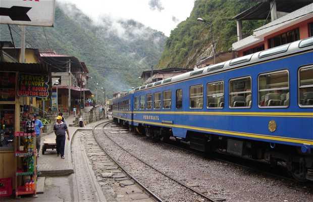 Tren a Machu Pichu