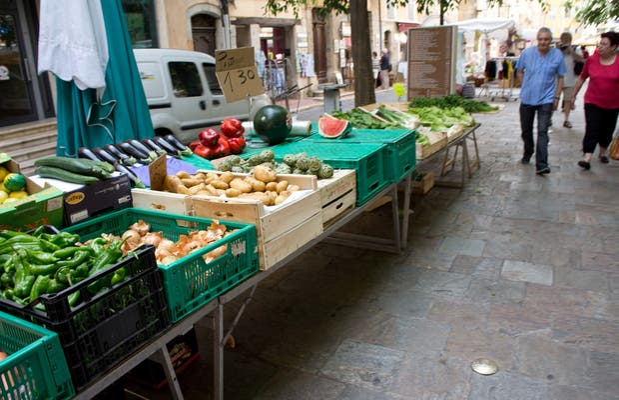 Mercado de la Place aux Aires