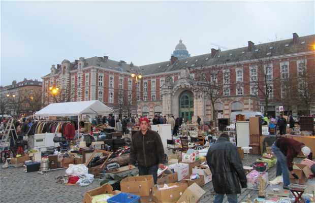 Mercado da Place du Jeu-of-Balle