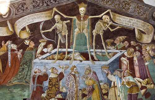Il trionfo della Morte Regina e la danza Macabra