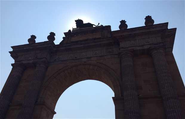 Arco de la calzada