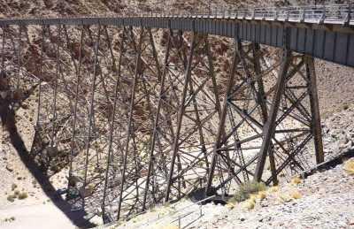 Puentes ferroviarios via verde del aceite