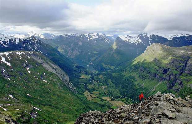 Il monte Dalsnibba