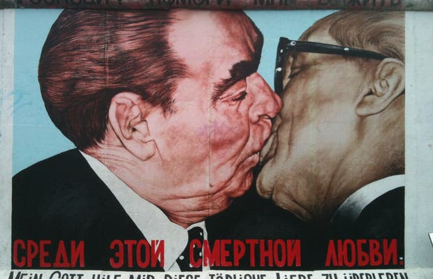 East Side Gallery - Berlin Wall