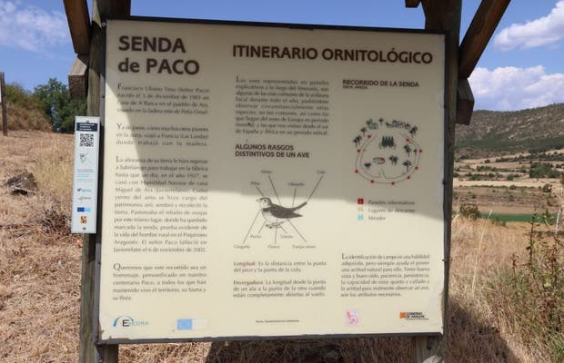 Senda Ornitológica de Javierrelatre