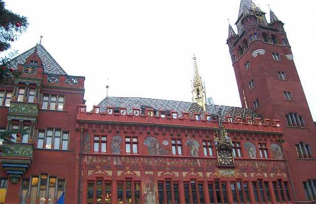 Basel Town Hall (rathaus)