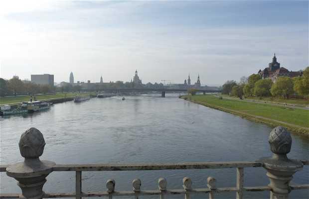 Rive de l'Elbe