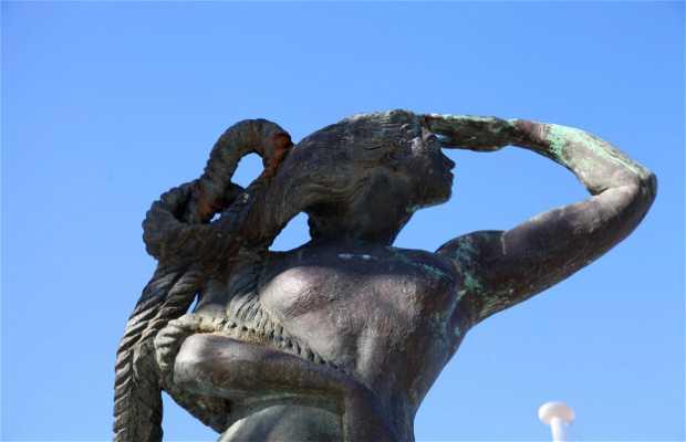 Statues de bronze à Cascais