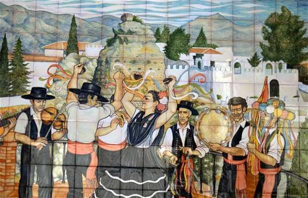 Plaza de los Verdiales a Malaga