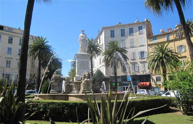 Estatua de Napoleón romano