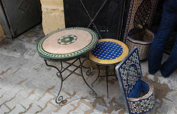 Fábrica de muebles árabes