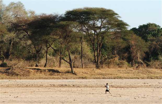Angwa River in Zimbabwe