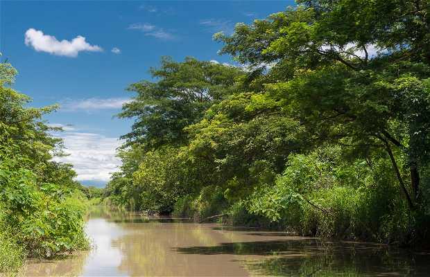 Bateau sur le fleuve Tempisque