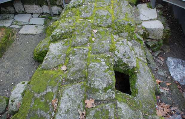 Restos de la muralla de Allariz