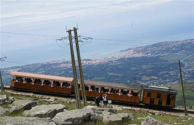 Tren cremallera de Larrun