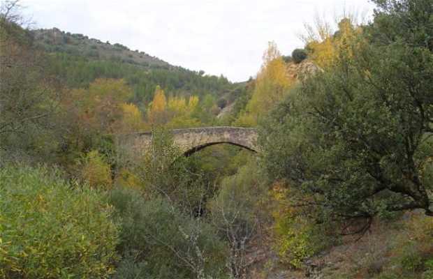 Puente medieval de Valdesotos