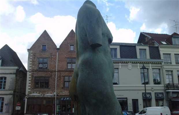 Statue acéphale
