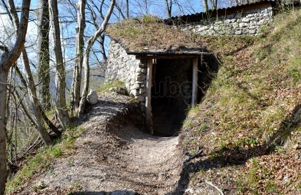 Zanjas italianas del río Isonzo