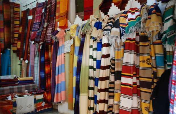 Centro artesanal de Marrakech