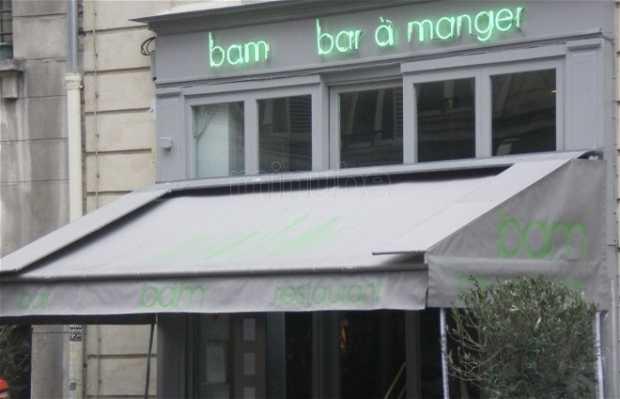 Bam, bar à manger