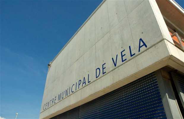 Actividades náuticas en el centro municipal de vela de El Prat