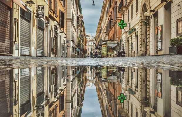 Via Margutta - La strada degli artisti