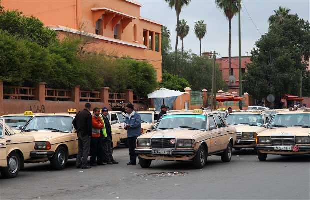 Taxis en Marrakech
