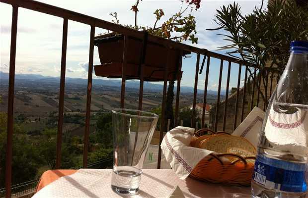 Restaurante Torre Antica, Recanati, Italia