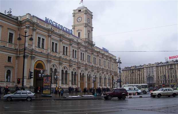 Gare de Moscou (Moskovski vokzal)