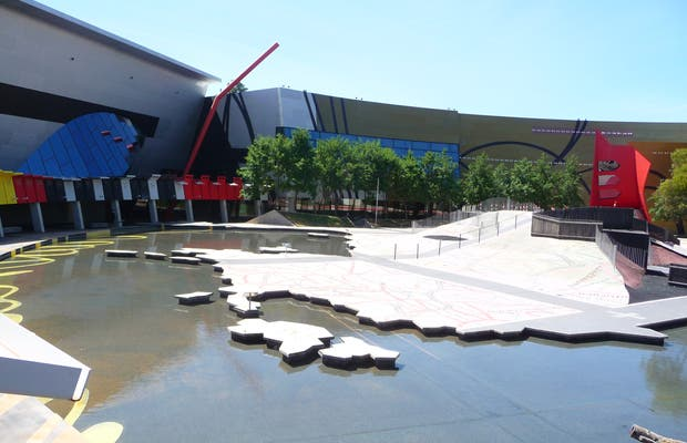 Le Musée National d'Australie à Canberra