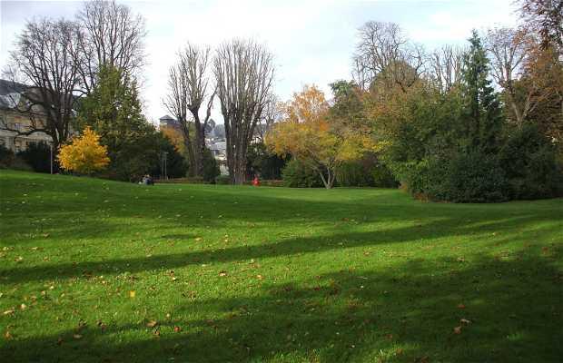 Jardin de l'Hotel de ville de Rouen