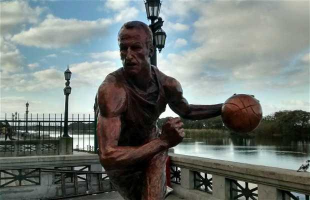 Estatua Emanuel Ginobili