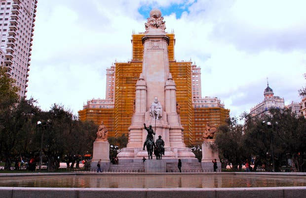 Monument à Cervantes