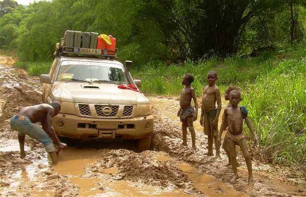 Carreteras del Congo Brazzaville
