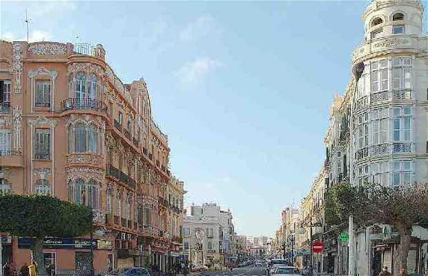 Les rues de Melilla