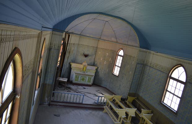 Igreja Abandonada de Fazenda Souza
