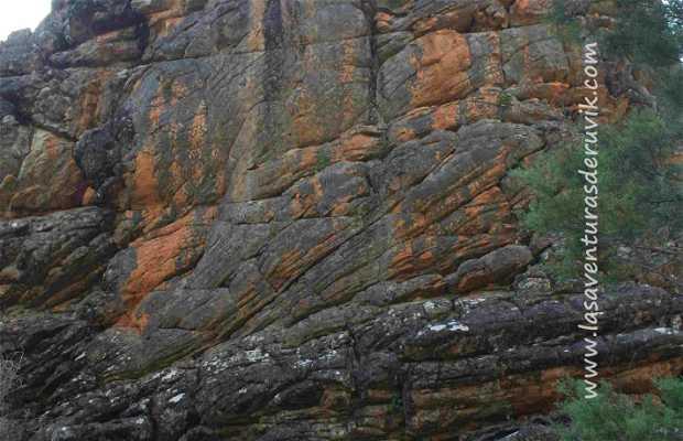 Manja Shelter - Arte rupestre aborigen