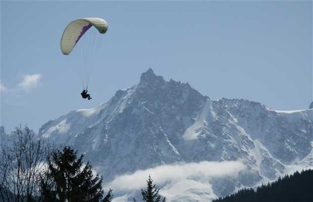 Nido dell'Aquila a Chamonix