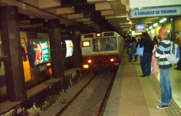 Estacion Subte Callao - Linea D