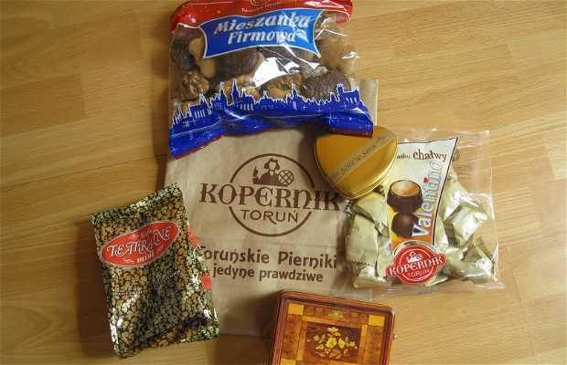 Pierniki, dulces de jengibre