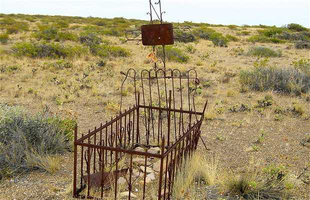 Abandoned cemetery of Puerto Lobos