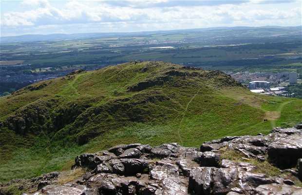 Vulcano Arthur's Seat in Scozia