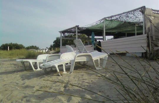 "Snack ""Le Corail"" - Beach Olga"